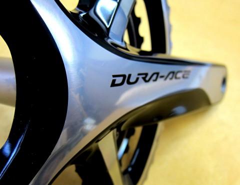 Shimano Dura Ace 9000 crank detail