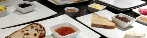 Foods to taste test at RSC - photo - Rob Vandermark