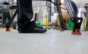 Steady Footing During Natalia's Video Shoot - photo - Rob Vandermark