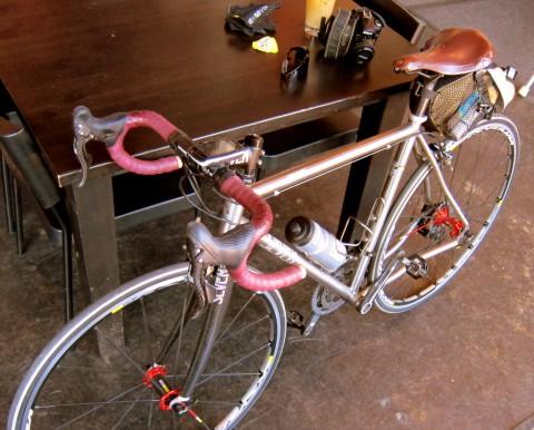 Velouria's Seven - Lovely Bicycle - photo - Rob Vandermark