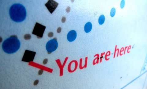You are here, you are alive - photo - Rob Vandermark