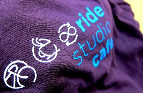 Autumn t-shirt front - Ride Studio Cafe