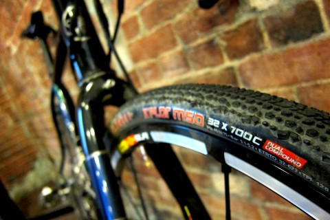 Honey All Roads with Clement X'PLOR MSO 32c tires and plenty of room to spare