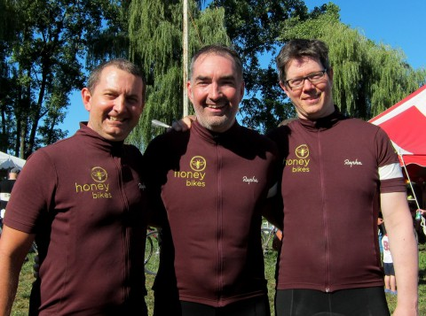 Honey Team - Chip Baker, Roger Cadman, Rob Vandermark - Post Ride
