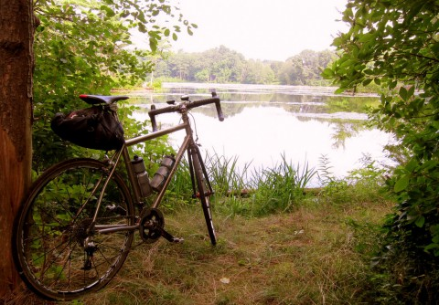 The quiet pond - photo - Rob Vandermark