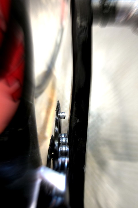 Chain Behind Pin - photo - Rob Vandermark