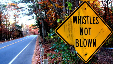 Whistles Not Blown