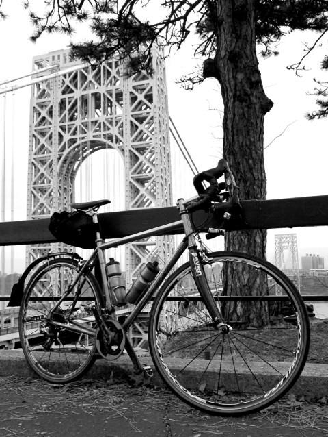 Ready to ride the George Washington Bridge