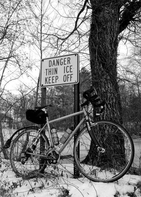 I'm definitely on thin ice for this Festive 500