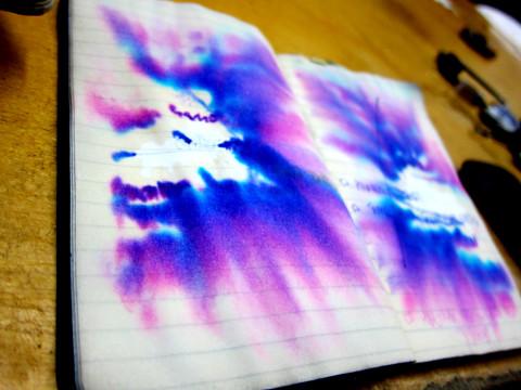 Notes become art - photo - Rob Vandermark
