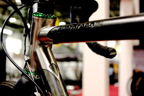 Seven Cycles Evergreen Toptube - photo - roadcyclinguk