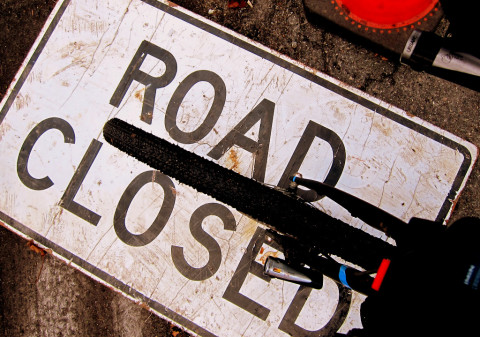 Road Closed For Diverged 2.0 - photo - Rob Vandermark