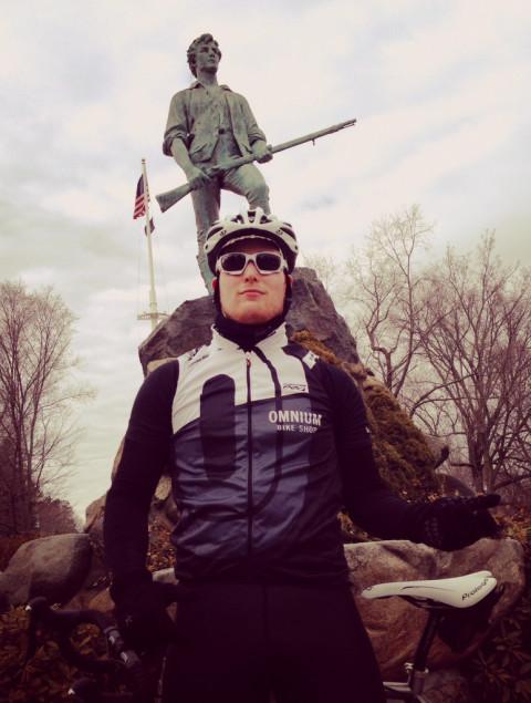 Minuteman Aaron Smith of Minneapolis Musette - photo - Chip Baker