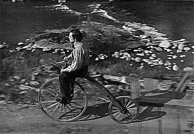 Buster Keaton Ordinary Bicycle - The General 1927