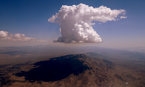 Cloud over Nevada - photo - Rob Vandermark