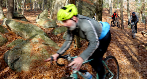 Riding with the Best - photo - Rob Vandermark